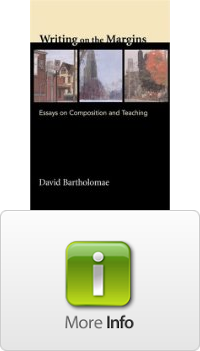 writing on the margins essays on composition and teaching David bartholomae is a professor of english and writing on the margins: essays on composition and teaching writing on the margins: essays on composition and.